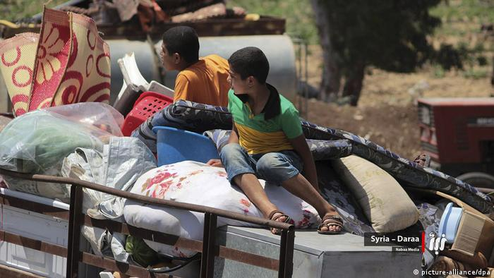 Civilians have been fleeing their homes under threat from airstrikes and ground forces