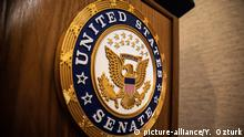 USA, Washington: Emblem des US Senats
