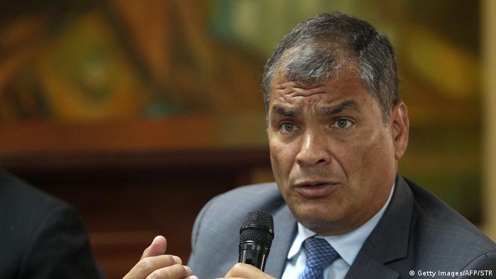 Foto de Rafael Correa