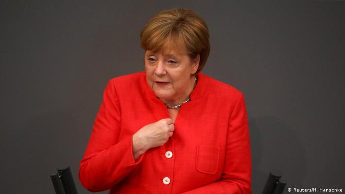 Deutschland Haushaltsdebatte im Bundestag in Berlin