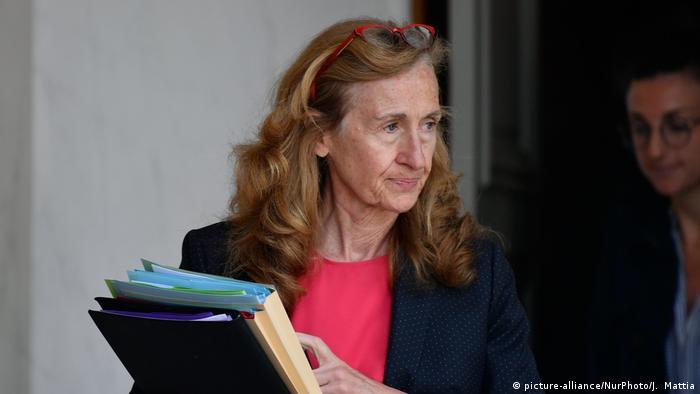 Frankreich Justizministerin Nicole Belloubet