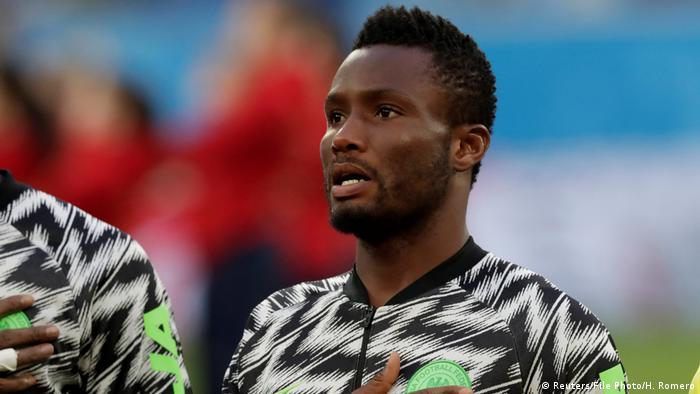 Russland Fußball WM 2018 | John Obi Mikel - Group D - Nigeria vs Argentina (Reuters/File Photo/H. Romero)