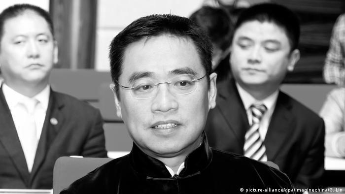 Wang Jian, Vorstandschef von HNA in Frankreich bei Unfall verstorben (picture-alliance/dpa/Imaginechina/G. Lin)
