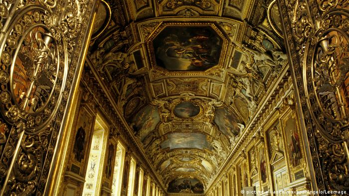 Galerie d'Apollon at the Louvre (picture-alliance/maxppp/Angelo/Leemage)