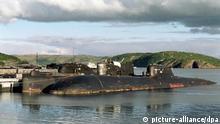 Russland Kola-Halbinsel - Friedhof für Atom-U-Boote