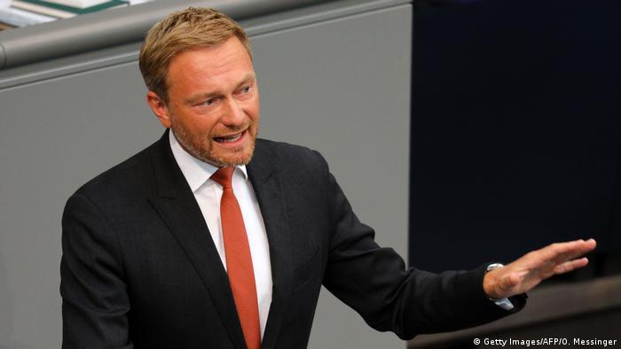 FDP Genel Başkanı Christian Lindner