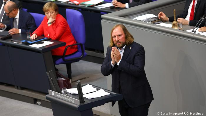 Deutschland Bundestag Generaldebatte Anton Hofreiter (Getty Images/AFP/O. Messinger)
