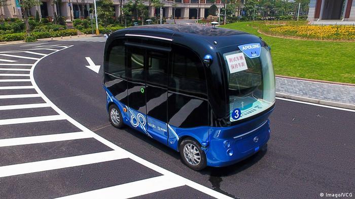 Baidu's autonomous minibus, Apolong