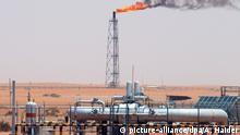 Saudi-Arabien Ölfeld in Riad