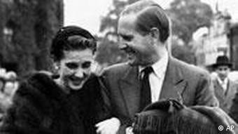 American Barbara Hutton and German tennis star Gottfried von Cramm
