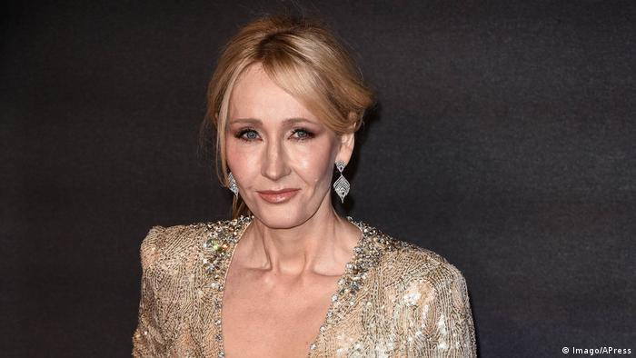 Author J K Rowling (Imago/APress)