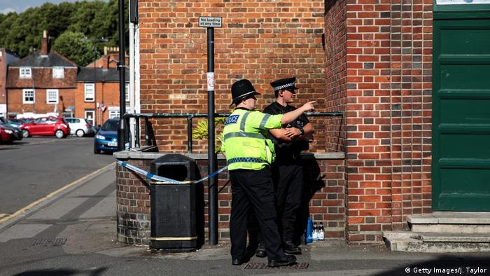 Полиция в Эймсбери