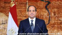 Ägypten Präsident Abdel Fattah al-Sisi