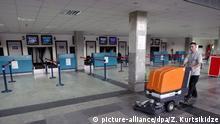Flughafen in Tiflis, Georgien