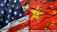 Symbolbild Handelskrieg USA und China (picture-alliance/chromorange/C. Ohde)