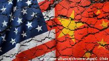 Symbolbild Handelskrieg USA und China