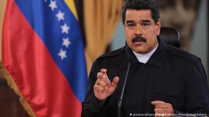 Nicolas Maduro (picture-alliance/epa/Miraflores Presidential Palace )
