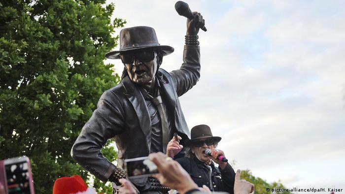 Udo Lindenberg statue