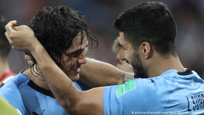 WM 2018 - Uruguay gegen Portugal (picture-alliance/Xinhua News Agency/F. Maohua)