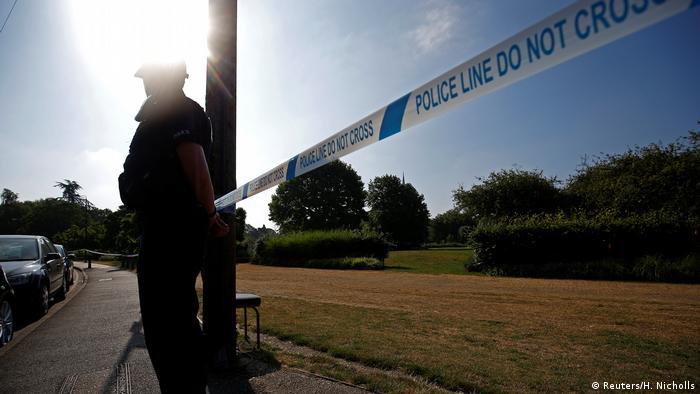 Großbritannien Vergiftungen in Salisbury (Reuters/H. Nicholls)
