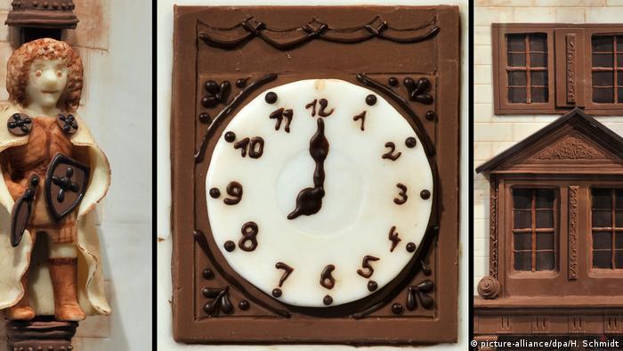 Uhr aus Schokolade