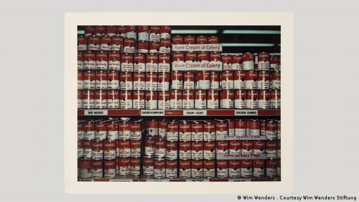 Поляроиды Вендерса на выставке в Берлине