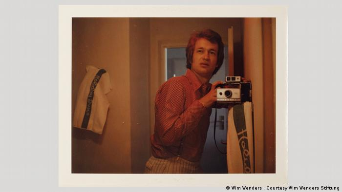 Traveling the USA and Europe with Wim Wenders' Polaroid photos