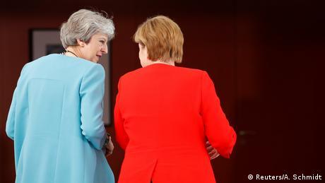 Άκαρπη η συνάντηση Μέρκελ-Μέι στο Βερολίνο