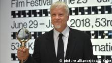 Tim Robbins beim Internationalen Filmfestival in Karlsbad