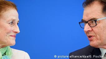 Henrietta Fore Exekutivdirektorin UNICEF und Bundesentwicklungsminister Gerd Müller