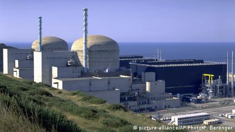 Flamanville nuclear power station in France