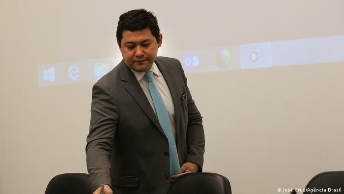 Der Arbeitsminister Helton Yomura (José Cruz/Agência Brasil)