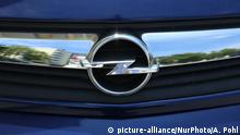 Opel Logo (picture-alliance/NurPhoto/A. Pohl)
