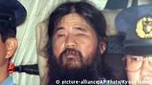 Japan Festnahme von Shoko Asahara