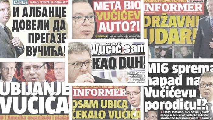 Titelseiten Vucic