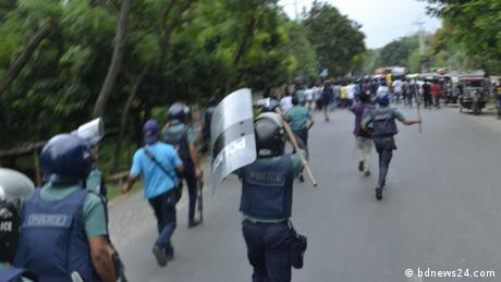 Bangladesch - Proteste (bdnews24.com)