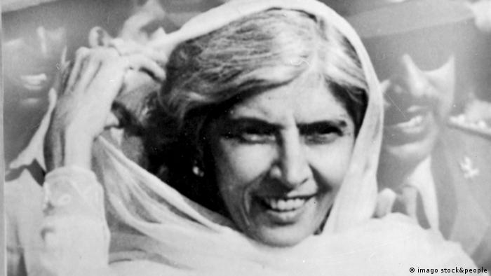 Politikerin Fatima Jinnah (imago stock&people)