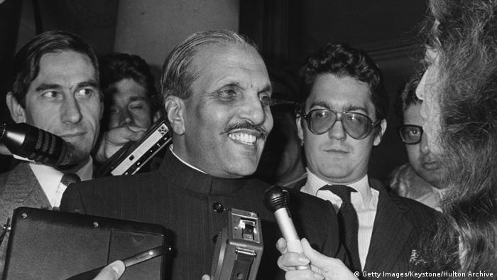 1977-1988 Präsident Pakistans Muhammad Zia-ul-Haq (Getty Images/Keystone/Hulton Archive)
