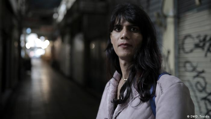 A transgender woman in Greece