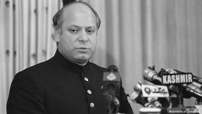 Premierminister Pakistan Nawaz Sharif (picture-alliance/dpa)