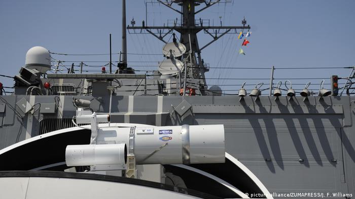 Sistema estadounidense de armas láser LaWS