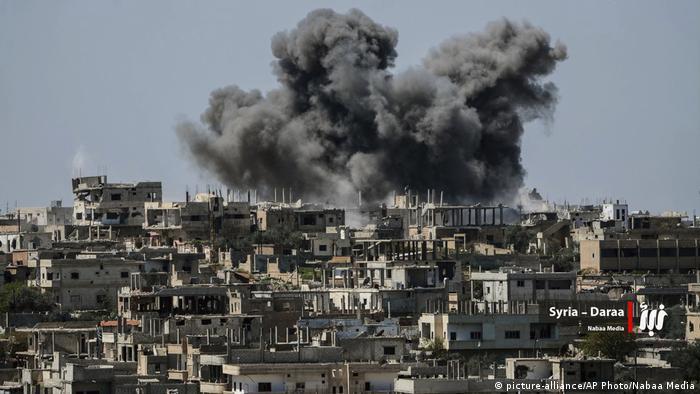 Syrien Krieg | Kämpfe in der Provinz Daraa