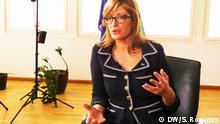 Ekaterina Zaharieva bei Conflict Zone