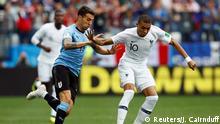 Fußball WM 2018 Uruguay - Frankreich