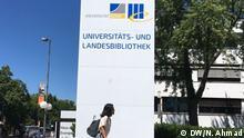 Deutschland   Bonner Studentin Nadia Dewanta (DW/N. Ahmad)
