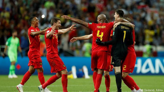 Fußball WM 2018 Brasilien - Belgien (Reuters/J. Sibley)