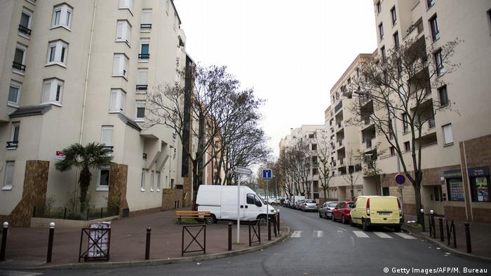 Apartment buildings in the Creteil neighborhood outside of Paris