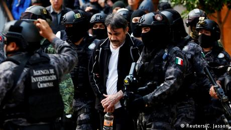 Mexiko Drogenboss Damaso Lopez (Reuters/C. Jasson)