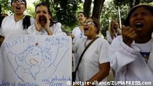 PROTEST OF NURSES