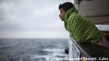 Symbolbild Migranten Rettungsaktion
